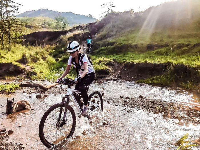 Mountain fun MTB Biking Mountain Outdoors