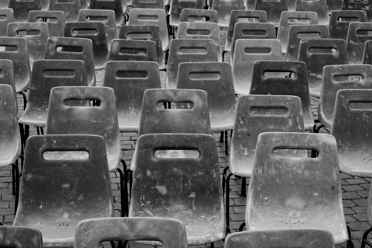 Plastic chairs
