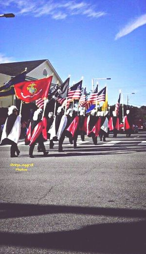 Veterans Day Parade Streetparade