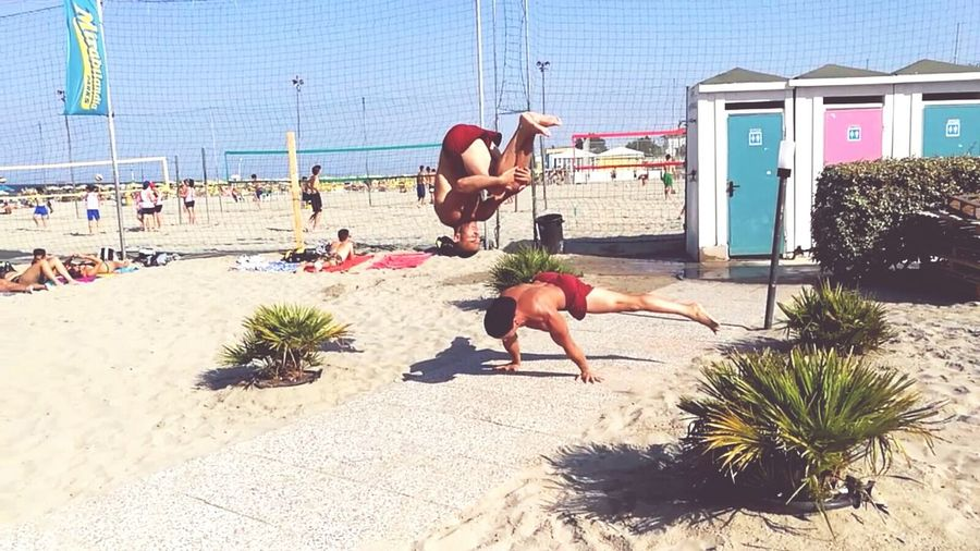 Enjoy the moment Showcase June Another Family Check This Out Calisthenics Tricking Seaside Showtime