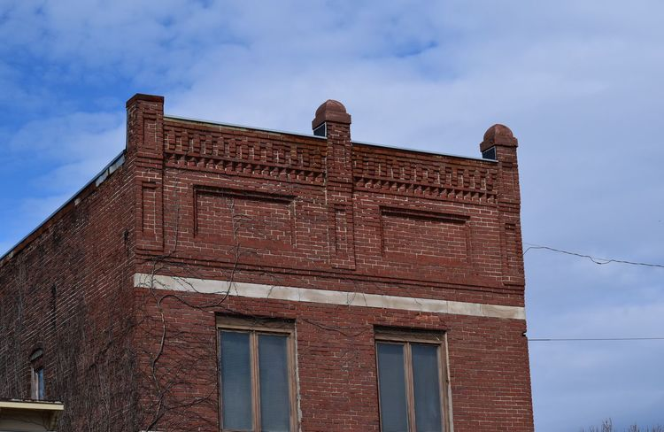 Indiana Brick Building Architecture Building Exterior Built Structure Day Low Angle View No People Outdoors Sky