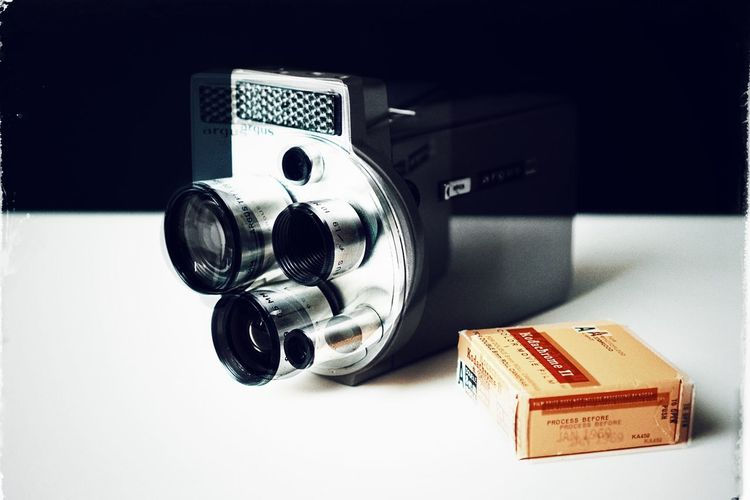 anachronism 01 Antique Movement Multiple Exposure Film Camera Camera Lens Analogue Technology Retro Vintage Still Life Close-up Technology Metal Equipment Single Object