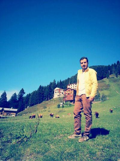 Huzur , umut , doğa inekler ve ben :)