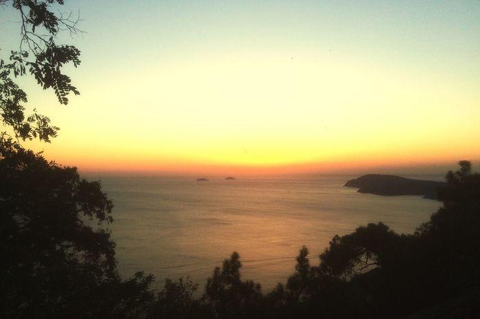 sunset over princess island istanbul Sunset Princess Island Istanbul Nature EyeEm Nature Lover AyaYorgiKilisesi