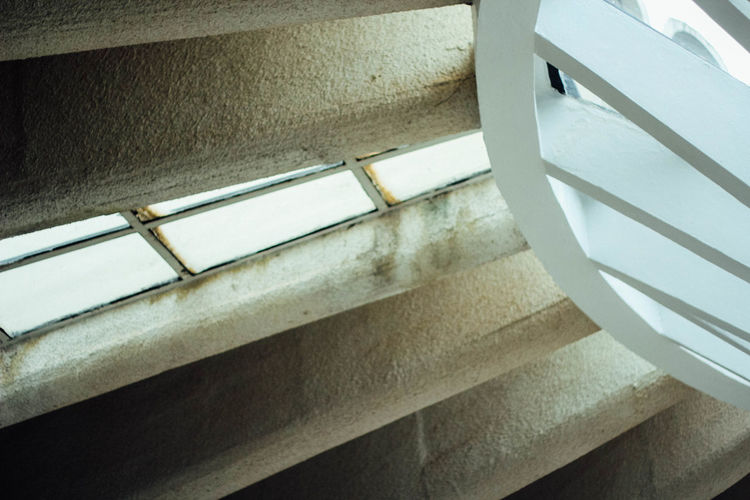 Architecture Built Structure Close-up Day Indoors  Low Angle View No People Staircase Steps Steps And Staircases
