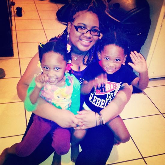 Me And My Babes :) I Love My Lil Cuzins