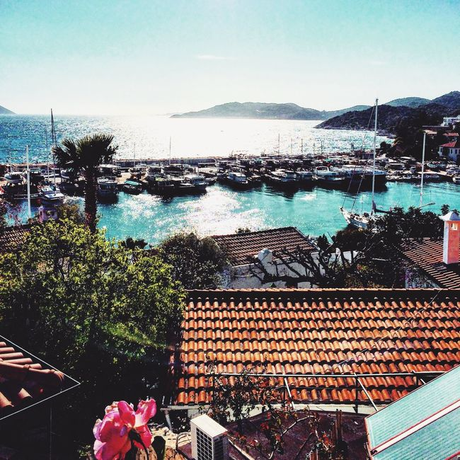 Antalya Kas 🇹🇷☀️🌞🌊⚓️😎 @helloeyeem Red Deniz First Eyeem Photo @bluesea Kas Antalya @BlueMarlin Huzur♥ Black And White