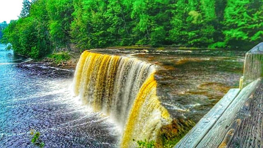 Tahquamanon Falls State Park State Park  Pure Michigan Tahquamenon Falls Tahqamenon Falls State Park Nature Nature Photography Landscape_photography Photography Hydroelectric Power Long Exposure Dam Alternative Energy Power In Nature Flowing Water Flowing Splashing Stream Falling Water