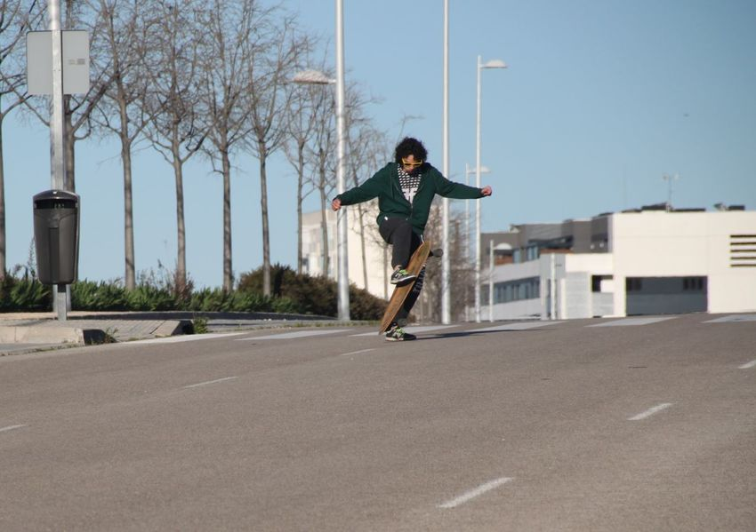 Day Daydreaming Fun Lifestyle Longboarding Outdoors Road Road Marking Skateboarding Sunny Day
