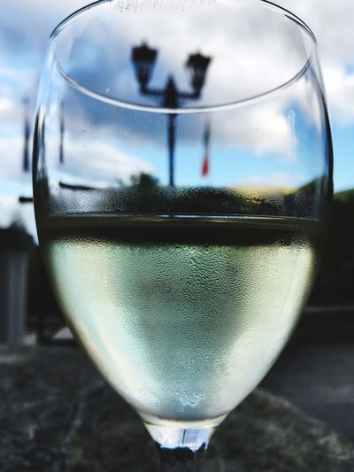 Through The Glass Like4like Glass Half Full Glass Half Empty Taking Photos Hanging Out IPhoneography Enjoying Life White Wine <3 Vino Bianco