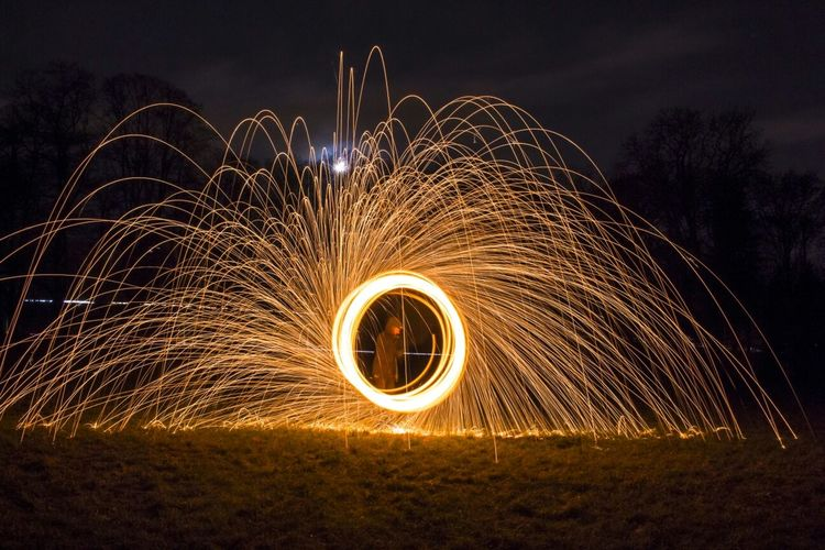 Ring Of Fire At Night