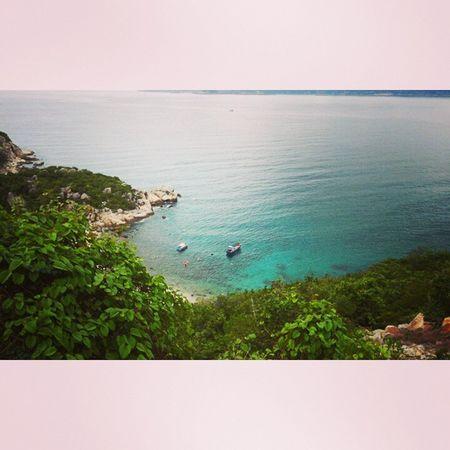 i love Bìnhba Beach Blue Quiet peace cool green cool great beautiful nature pure comfortable island vietnam