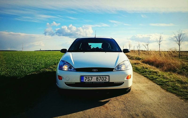 Focus Ford Focus Ford Grass Light Lights Glass Sun Sunset Car Cars Array Green Angel Eyes Love I Love My Car Love My Car Seven Heat Czech Republic Tree Clouds And Sky Clouds Luxury Nice Cars
