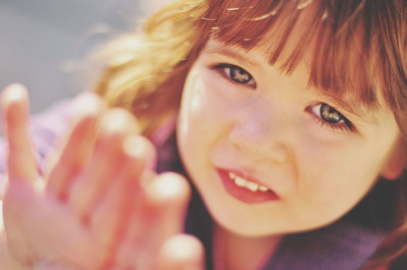 The World in Her Eyes. Child Girl Face Children Only Toddler  Eye Looking At Camera One Person Headshot Childhood Holyday Kids Kidsphotography Nikon One Girl Only Human Face Human Eye People Day Beautiful Play Fun