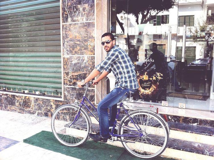 Libya Bicycle Enjoying Life That's Me