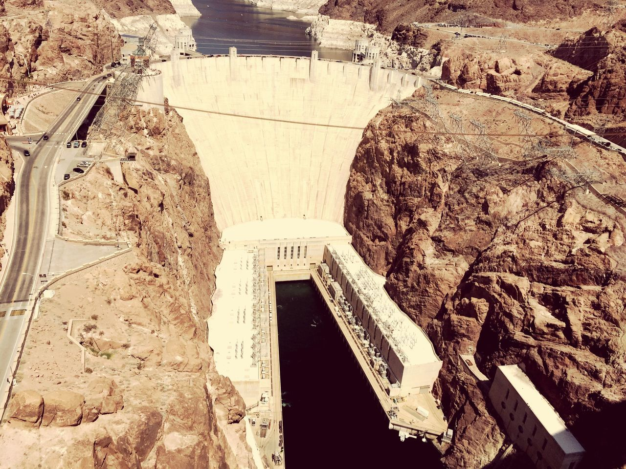 architecture, built structure, arch, dam, history, day, hydroelectric power, no people, architectural column, travel, travel destinations, outdoors, nature, ancient civilization