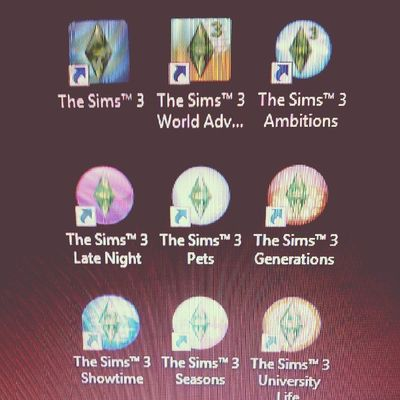 lol I have a problem ok... Sims3 Sims