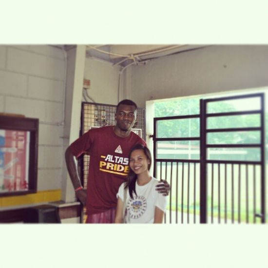 Picture daw kami ni Princeت Thanks for hanging out with us Prince ■■ Altas Player Instamood Igers instagramers smile cool