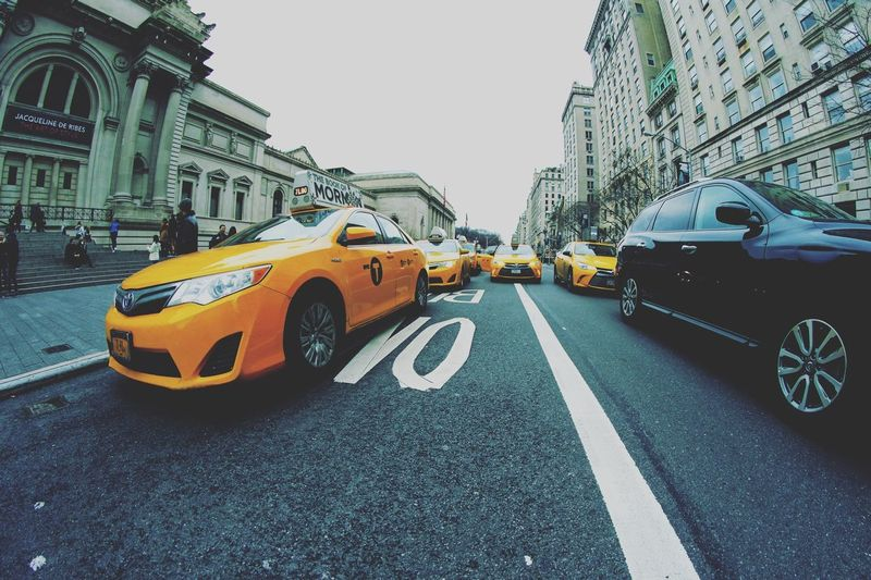 New York New York City Yellowcab Yellowcabs Cab NYC NYC Photography Streetphotography