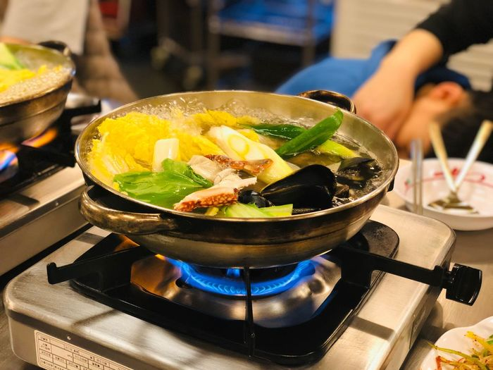 Food And Drink Food Stove Indoors  Kitchen Freshness Focus On Foreground Household Equipment Preparation  Close-up Preparing Food Incidental People Table Appliance Domestic Kitchen Healthy Eating Bowl Burner - Stove Top Domestic Room Fire