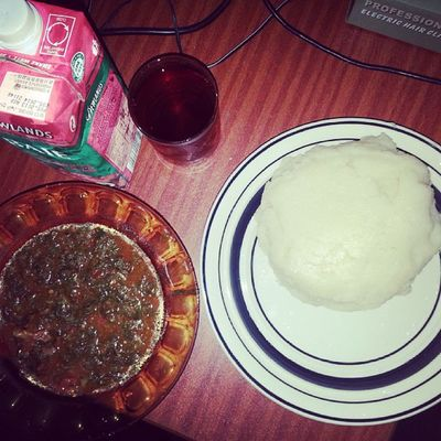 Wagging war! Instameal AfricanDish
