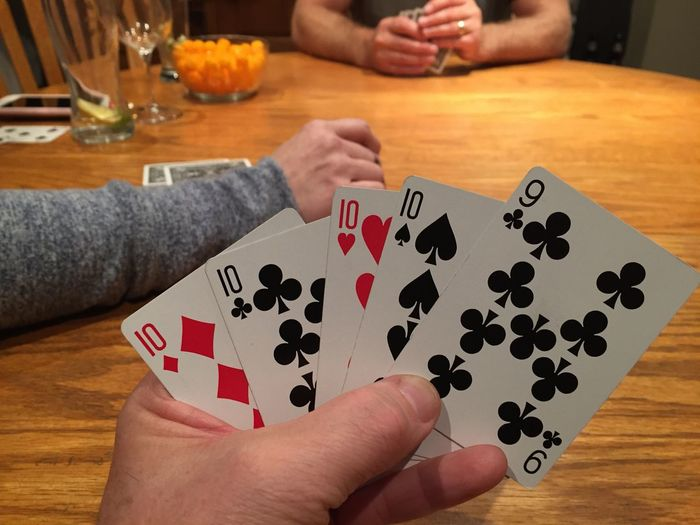 Worst hand Human Hand Hand Human Body Part Leisure Games Table One Person Holding