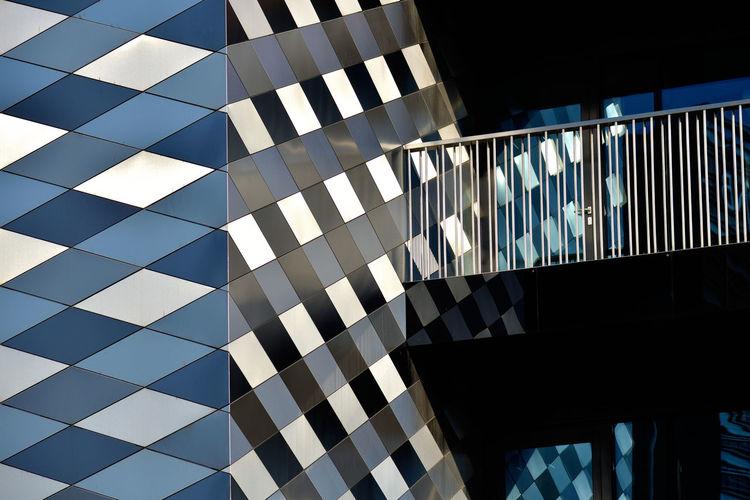 Rhombi City Exterior Façade Lithuania Modern Modern Architecture Vilnius Architecture Building Built Structure Europe Geometric Shape Geometry No People Pattern Urban The Architect - 2018 EyeEm Awards