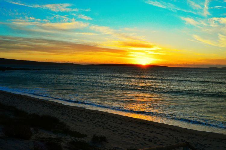 Sunset Beach Nature Sea Sky Beauty In Nature Water EyeEmNewHere