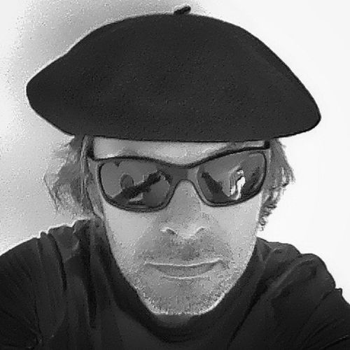 Beret French Beret IPhoneography Blackandwhite Black And White Eyewear Hats Portrait Selfportrait The Portraitist - 2017 EyeEm Awards