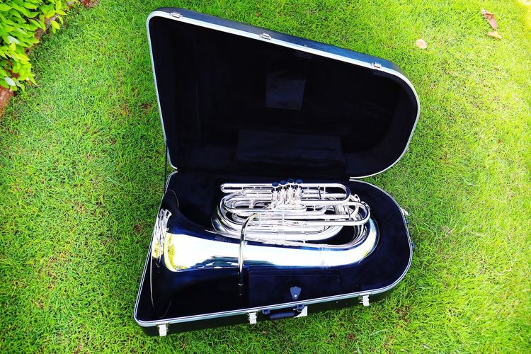 Music Saxophone Musical Instrument Classic Clarinet Jazz Music High Angle View Grass Close-up Woodwind Instrument Trumpet Acoustic Guitar Brass Instrument