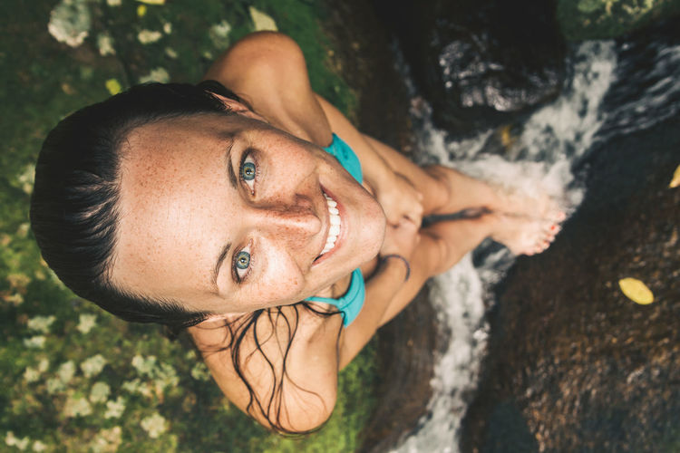 Took this great portrait of Paula when we were hiking to the south of Isla Grande. We stumbled over this beautiful natural pools in the middle of the jungle and had a spontaneous photo shooting. Close-up Day Eye Good Times Happiness Happy High Angle View Jungle Leisure Activity Lifestyles Looking At Camera Lookingup Nature One Person Outdoors Portrait Portrait Of A Woman Real People River Smiling Summer Travel Water Young Adult Young Women The Portraitist - 2017 EyeEm Awards EyeEmNewHere Sommergefühle EyeEm Selects Connected By Travel An Eye For Travel Focus On The Story Visual Creativity The Portraitist - 2018 EyeEm Awards