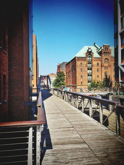 Architecture Building Exterior Built Structure Clear Sky No People Sky Port Life Hamburg Harbour Places And Spaces Exceptional Photographs Feeling Blessed EyeEm Best Shots Eye4photography  Feeling Thankful Tourist Tour Walking Around Taking Pictures Togetherness