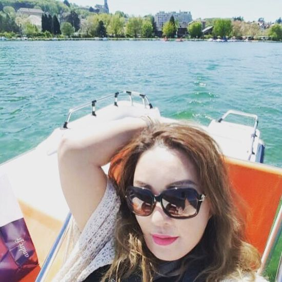 Pedal boating Annecy, France Le Lac Enjoying Life That's Me On A Holiday Travel Photography Lizaratravelphotography Feeling Lucky Lizara ❤️ The Great Outdoors - 2016 EyeEm Awards