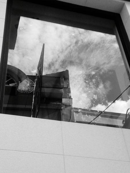 Reflection Glass Good Morning Street Photography Less Edit Juxt Photography