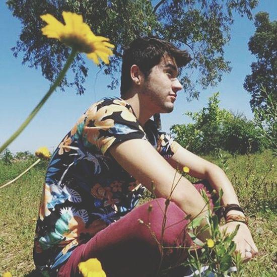 Flowers Fashion Nature Boy