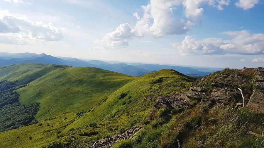 Bieszczady Mountains Landscape Sky Nature Mountain Mountains And Sky Mountain View Mountain Hiking Mountain Climbing Mountains And Valleys Tourism Vacations Day
