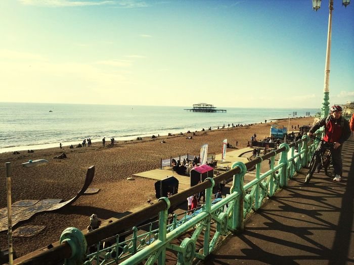 Brighton is so pretty today First Eyeem Photo