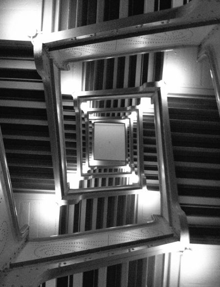 The Illuminator - 2014 EyeEm Awards Black And White Stairs