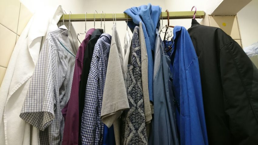 Hanging Clothing Multi Colored Textile Coathanger Fashion Indoors  Variation Textile Industry Retail  Choice Store Clothing Store Large Group Of Objects Sleeve  No People Menswear Close-up Day