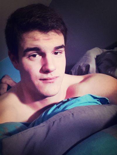 Relaxing Before Sleepin' In Bed