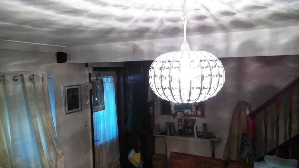 Dimly Lit House Poor Light Poor Visibility Livingroom Stairs Lights And Shadows Artificial Light Natural Light Window Light No People Indoors  Glass Reflection Glass Chandelier
