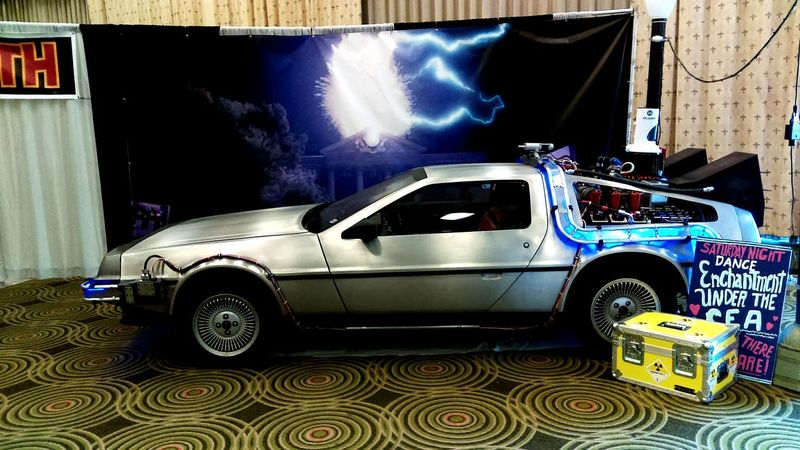 The Delorian at Omni Expo 2016
