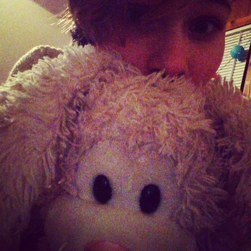 When you're a cutie, with a slightly large bunny stuffed animal named Marshall. Selfie Selfieofthenight Selfiesunday Selfies Selfiee Bunny  Bunnies Stuffedanimal Toy Girl Pink Pretty Cute Cutie Cutiepie Me Meandastuffedanimal Cuddles Cuddling Bestfriend Stuffie Rabbit Bunnystuffie