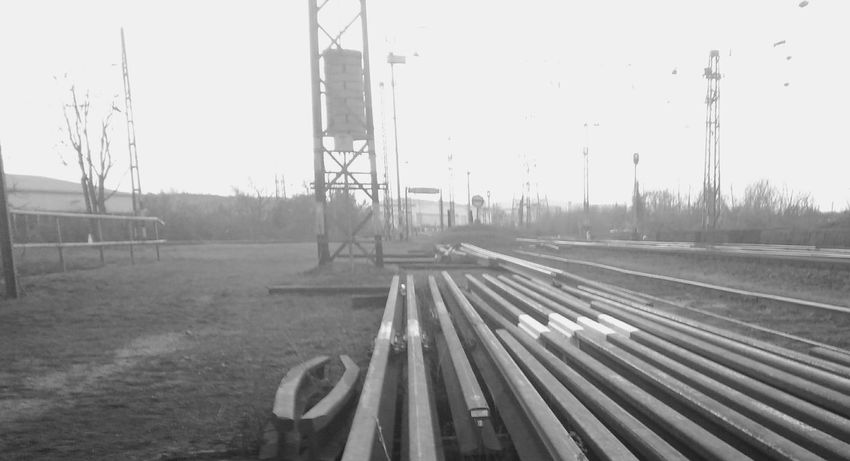 Industrial Steel Rails