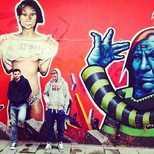 Thessaloniki Downtown Wallcoloros Weird Art Graffiti
