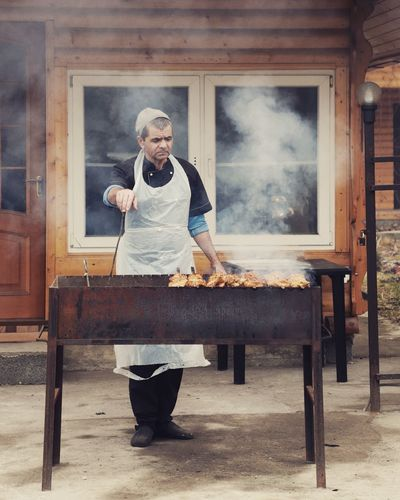 Cooking Popular Photos EyeEm Selects Photography Photosession Canon Landscape Apron Adult Smoke - Physical Structure Abandoned Adults Only Rustic People