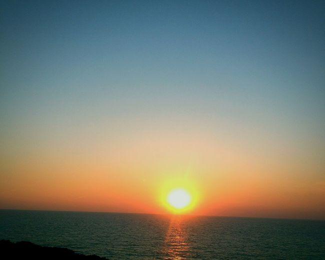 Playa Roche Conil Conil De La Frontera Sol Puesta De Sol Mar