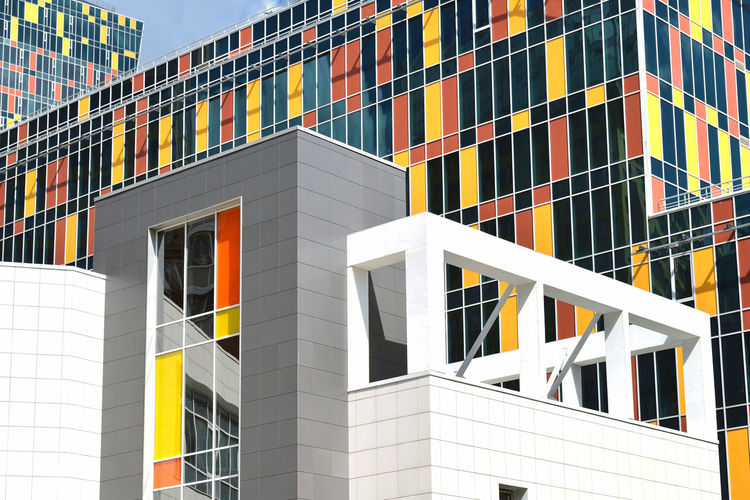 Sky House Architecture City Modern Urban Moscow Building Color Outdoors Russia Urban Geometry No People Moscow, Russia Building Exterior Built Structure RU643_MOSCOW_AK RU643_RUSSIA_AK
