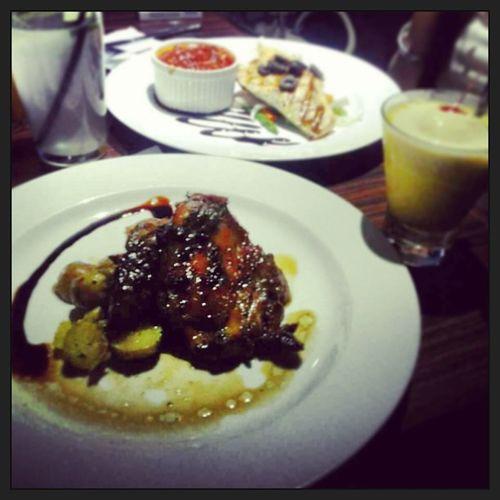 Chickensteak Salmonsteak Bakerzin Instagram iphonesia delicious mangojulios lime