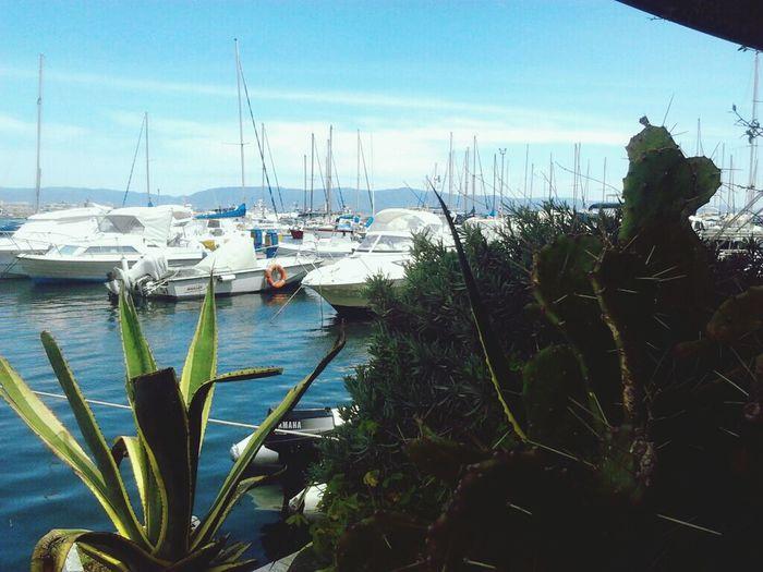 Hi! Sardinian Countryside People Hello World